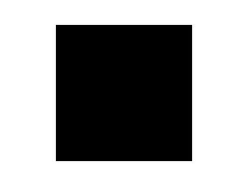 MOQUETTE • Noire filmée en 200 cm pièce 40 ml 80 m2
