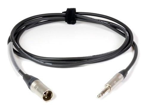 CABLE • Audio noir 2,5 mètres 2x0,22mm2 - NP3X & NC3MXX