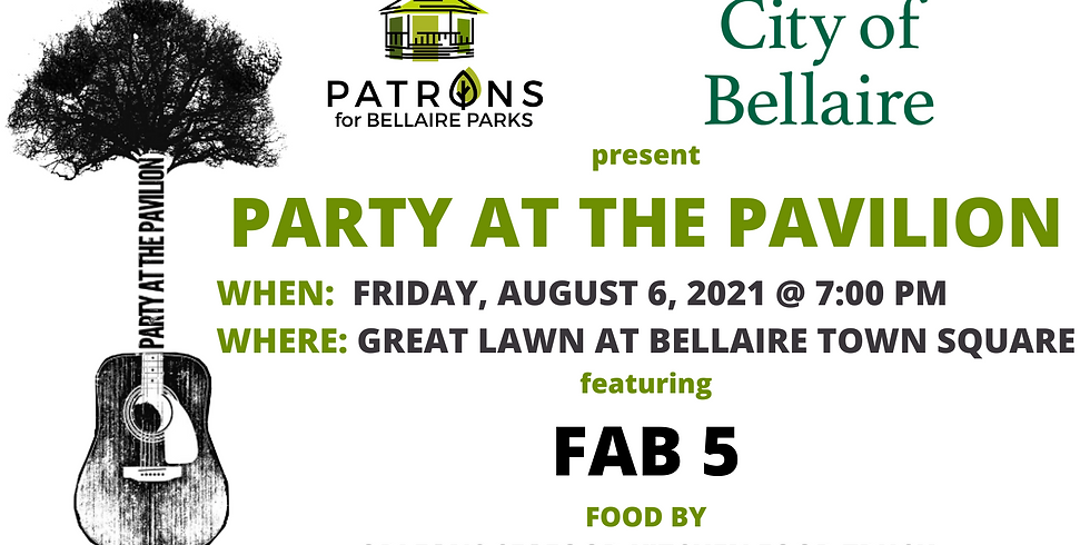 Party at the Pavilion - The Fab 5