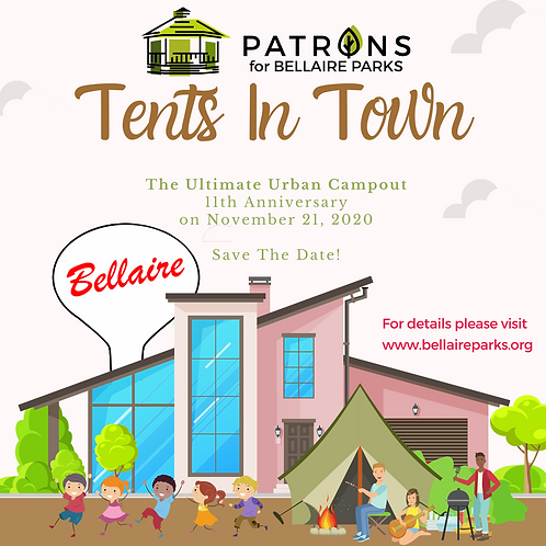 $750 Tents in Town Campfire Stories Sponsor