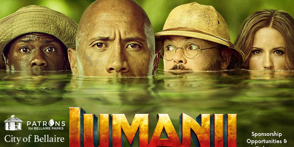 Dive-In Movie Night - Jumanji:  Welcome To The Jungle