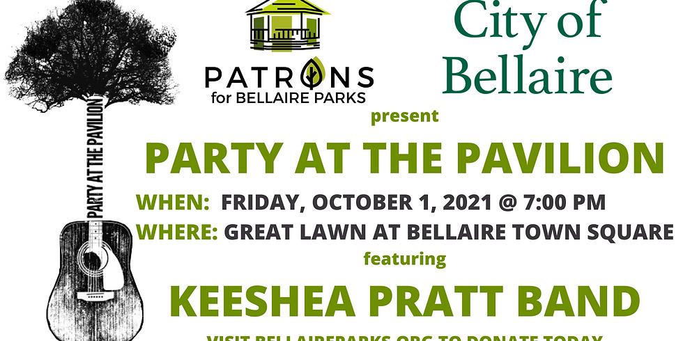 Party at the Pavilion - The Keeshea Pratt Band