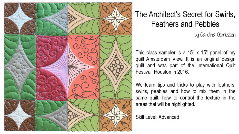 The Architect's Secret for Swirls, Feathers and Pebles