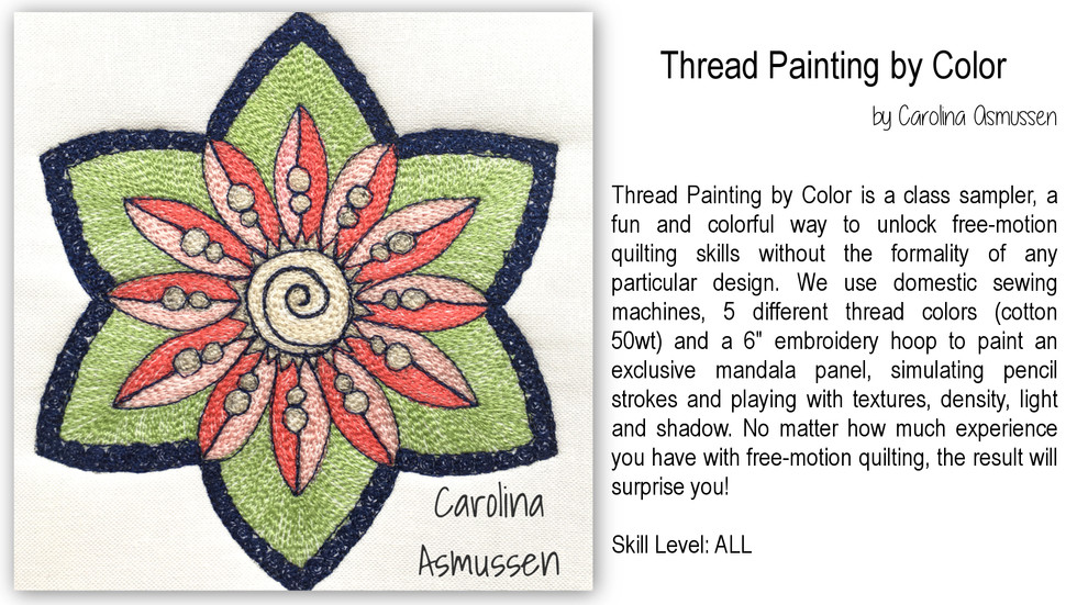Thread Painting by Color