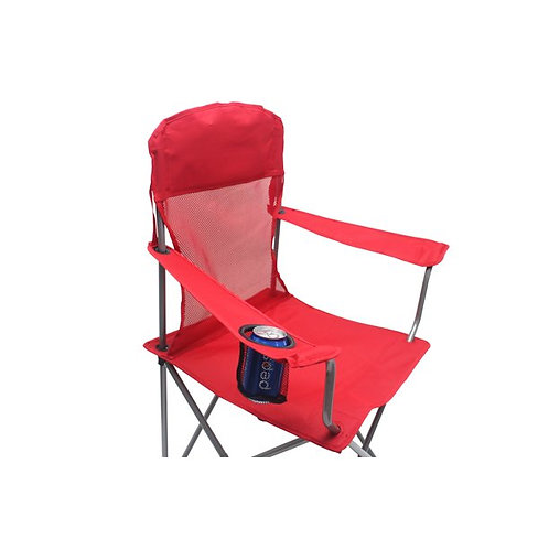 Folding Camp Chair with Cup Holder