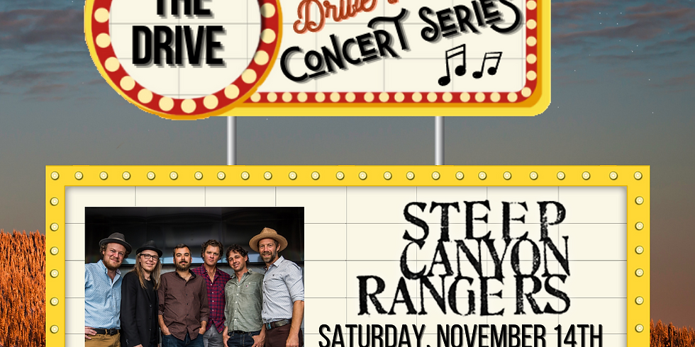 Steep Canyon Rangers (Drive-in Concert Series)