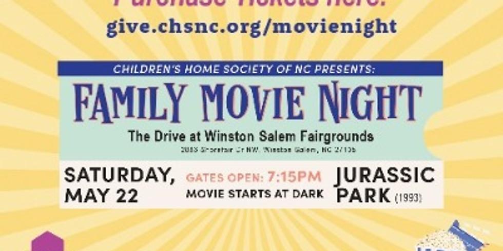Jurassic Park - A fundraiser for Children's Home Society