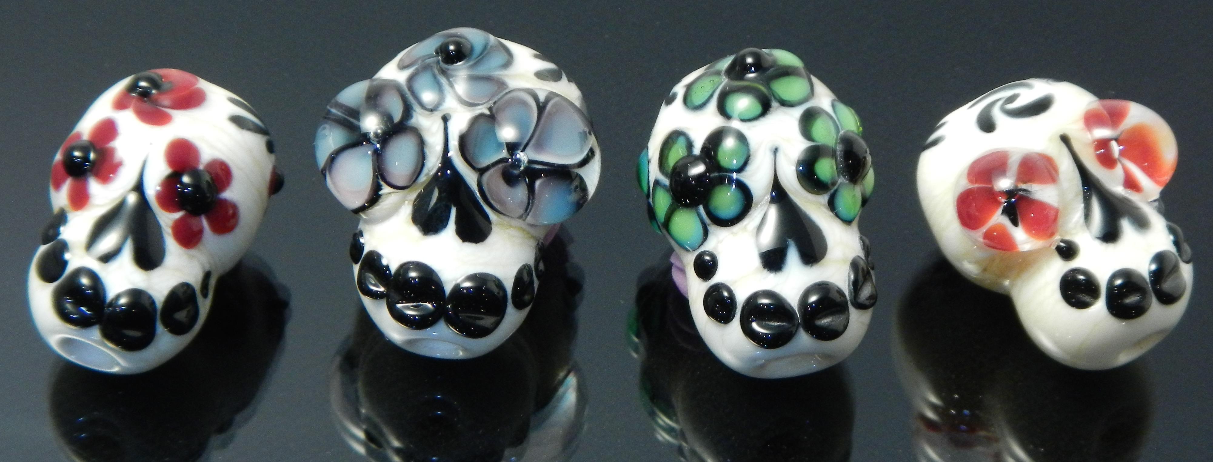 Dia de Los Muertos Beads