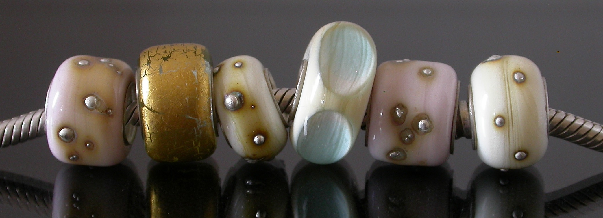 Large Hole Beads in various designs