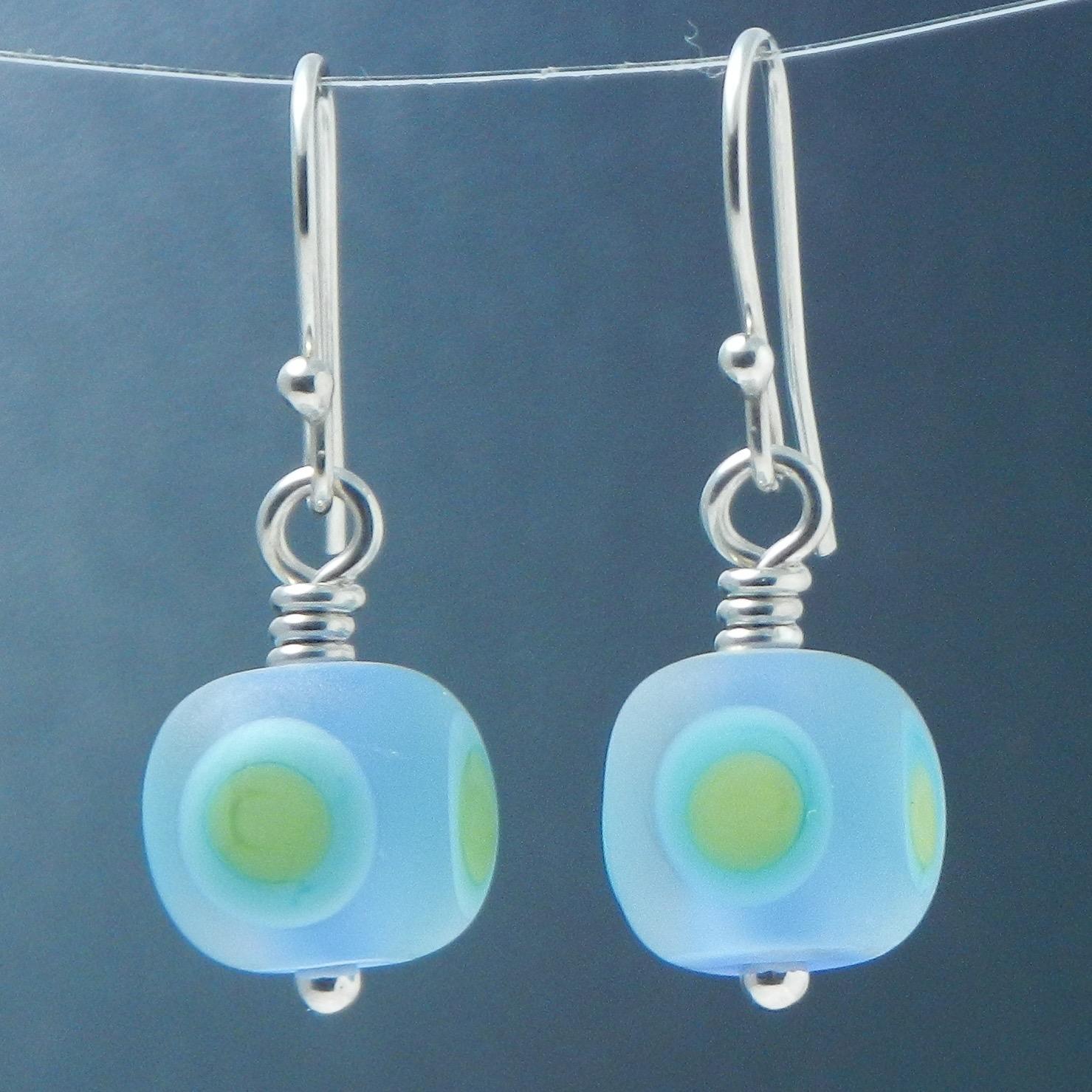 Luminous Cube Earrings