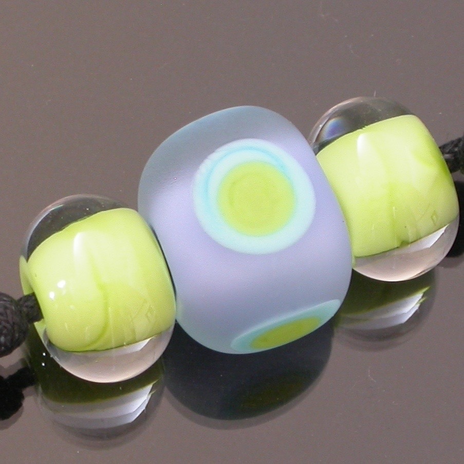 Luminous Cube and Accent Beads