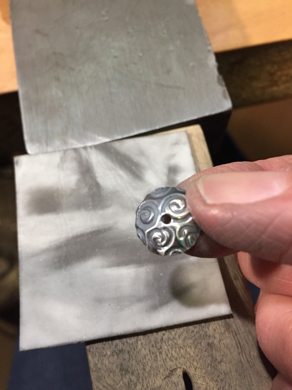 making silver jewelry