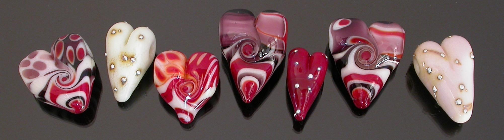 Valentine Heart Beads