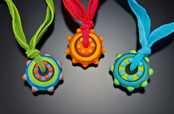 Colorful Circle Necklaces