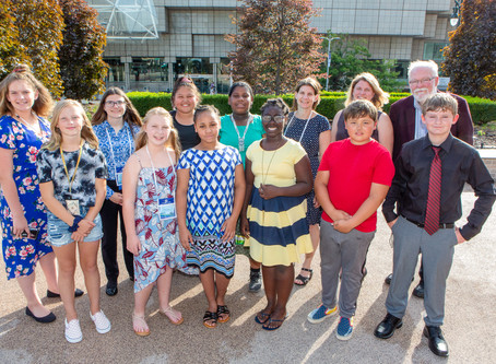 Student Scientists Present Research at the GLOBE Annual Meeting with Support from YLACES