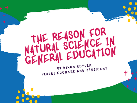 The reason for natural science in general education
