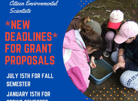 YLACES Grant Proposal - *NEW DEADLINE*