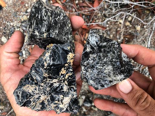 Obsidian / Volcanic Stones