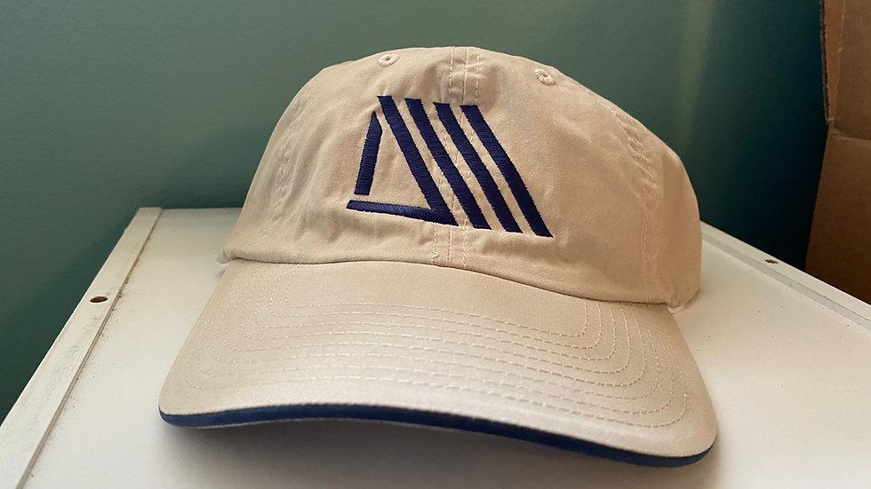 Daywalkerz Hat Beige w/Navy Stitch