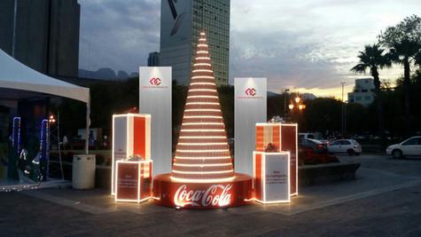 Coca Cola Stands Monterrey