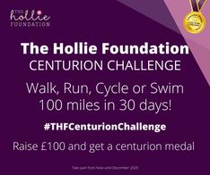 Walk, Run or Swim 100 miles in 30 days!