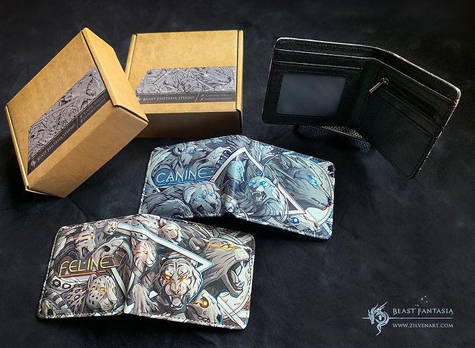 beacanine fantasia canine feline wallet