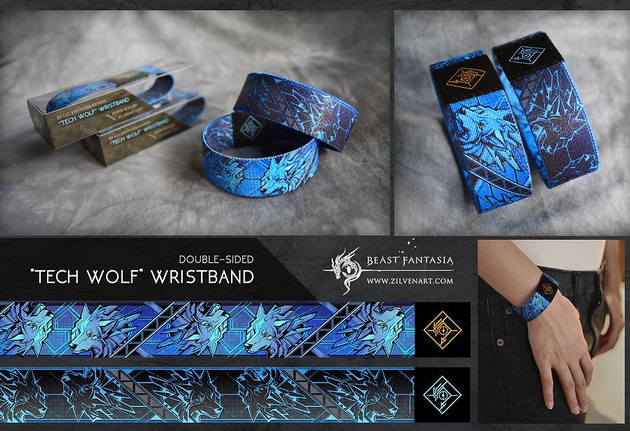 beast fantasia tech wolf Wristband