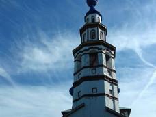 Колокольня храма Корсунской иконы Божией Матери открыта для посетителей.