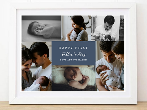 Father's Day 6 Photo Frame