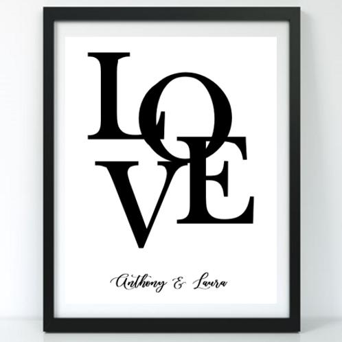 Modern Love Frame