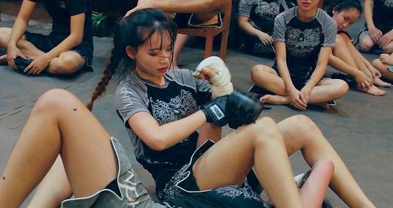 Liên Phong MMA thi lên cấp - Promotion Test