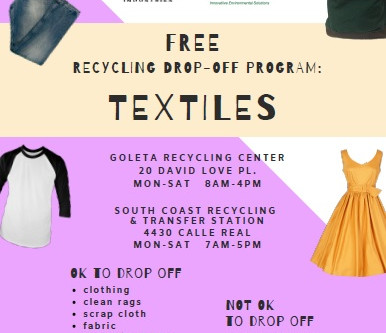 Where to recycle old textiles