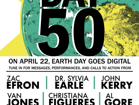 On April 22, tune into Earth Day online!