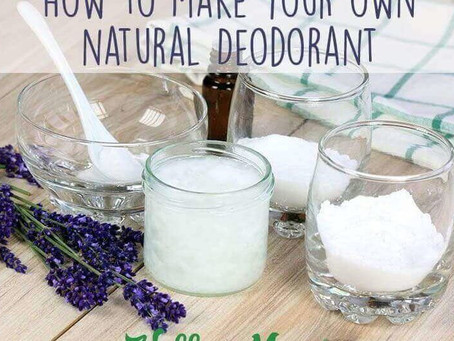 How (easy) to make your very own deodorant!