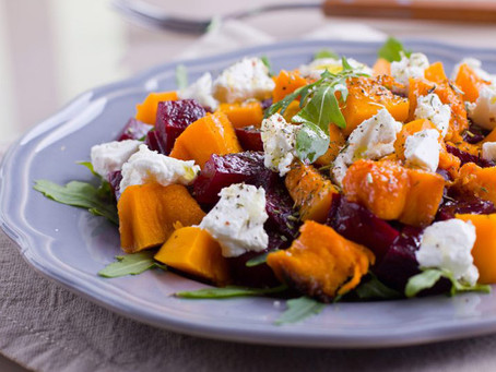 Sweet Potato, Beet & Arugula Detox Salad