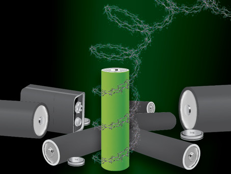In Development: a New Metal-free, Recyclable Polypeptide Battery that Degrades on Demand