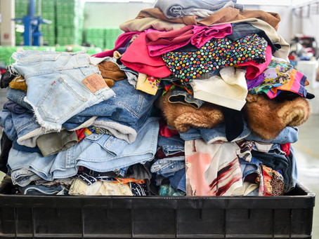 """Serie of """"Life Hacks' For Living Sustainably - 1 - the clothes you don't wear"""
