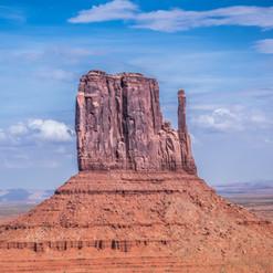 West Mitten, Monument Valley, Navaho Tri