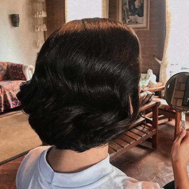 Eu amo um cabelo retrô ✨ quem mais_ ⚡️_.