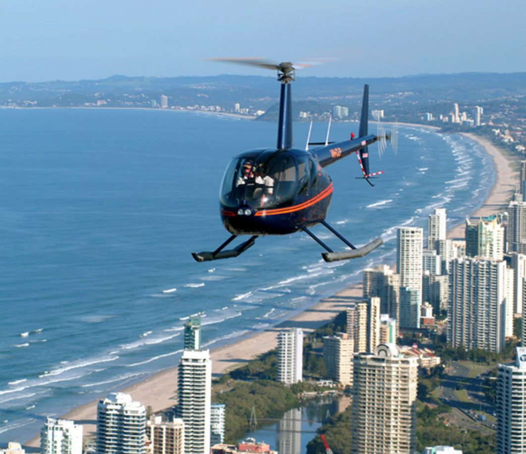 Helicopter service