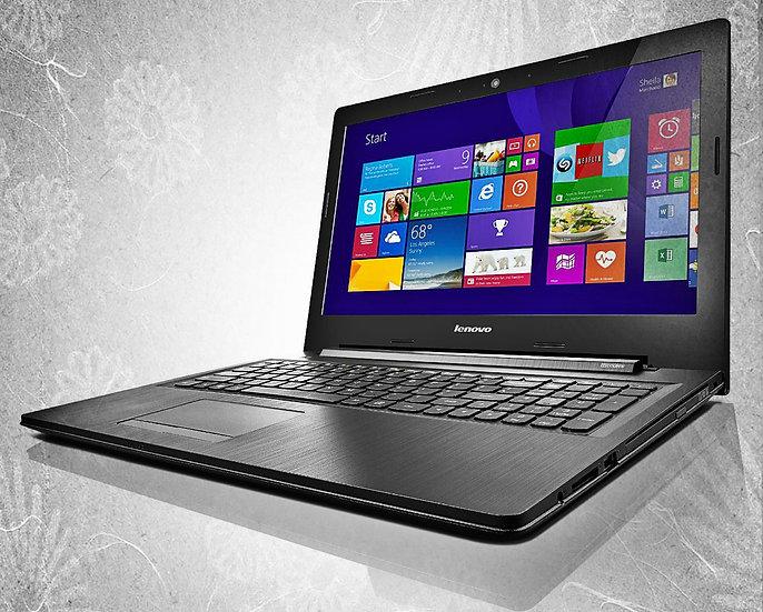 Kraftfull Laptop Inkl Win 10 & Mer