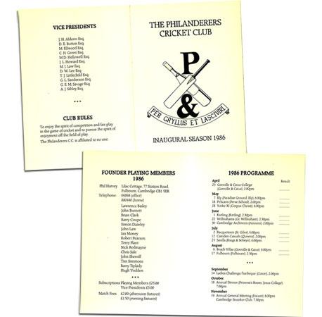 Fixture Card