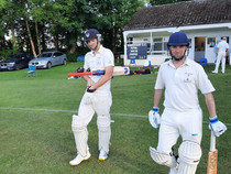 The Philanderers v St Giles, Tuesday 8th June at Babraham