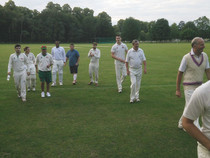 The Philanderers v St Giles, Tuesday 2nd July at Babraham