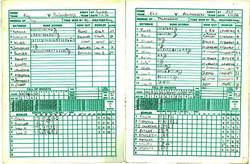 Inaugral Match Book