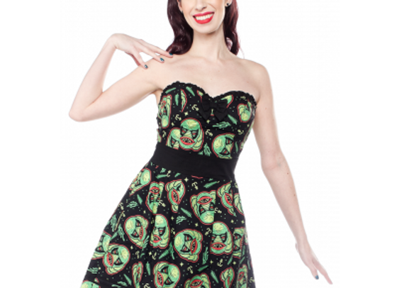 Sourpuss Creature Party Dress