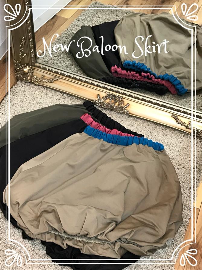 大人気Baloon Skirt入荷しました♡