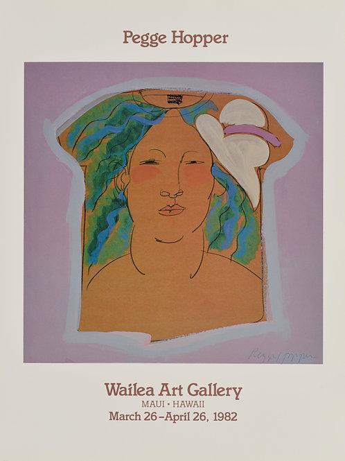 Wailea Art Gallery Poster