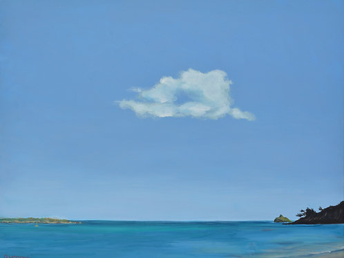 Lone Cloud, Kailua Beach