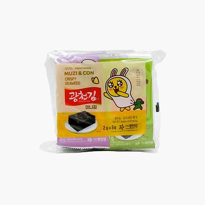 [KS062] 광천김 카카오프렌즈 광천김 미니 2g*8봉